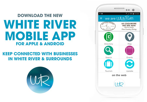 We Are White River App Ad