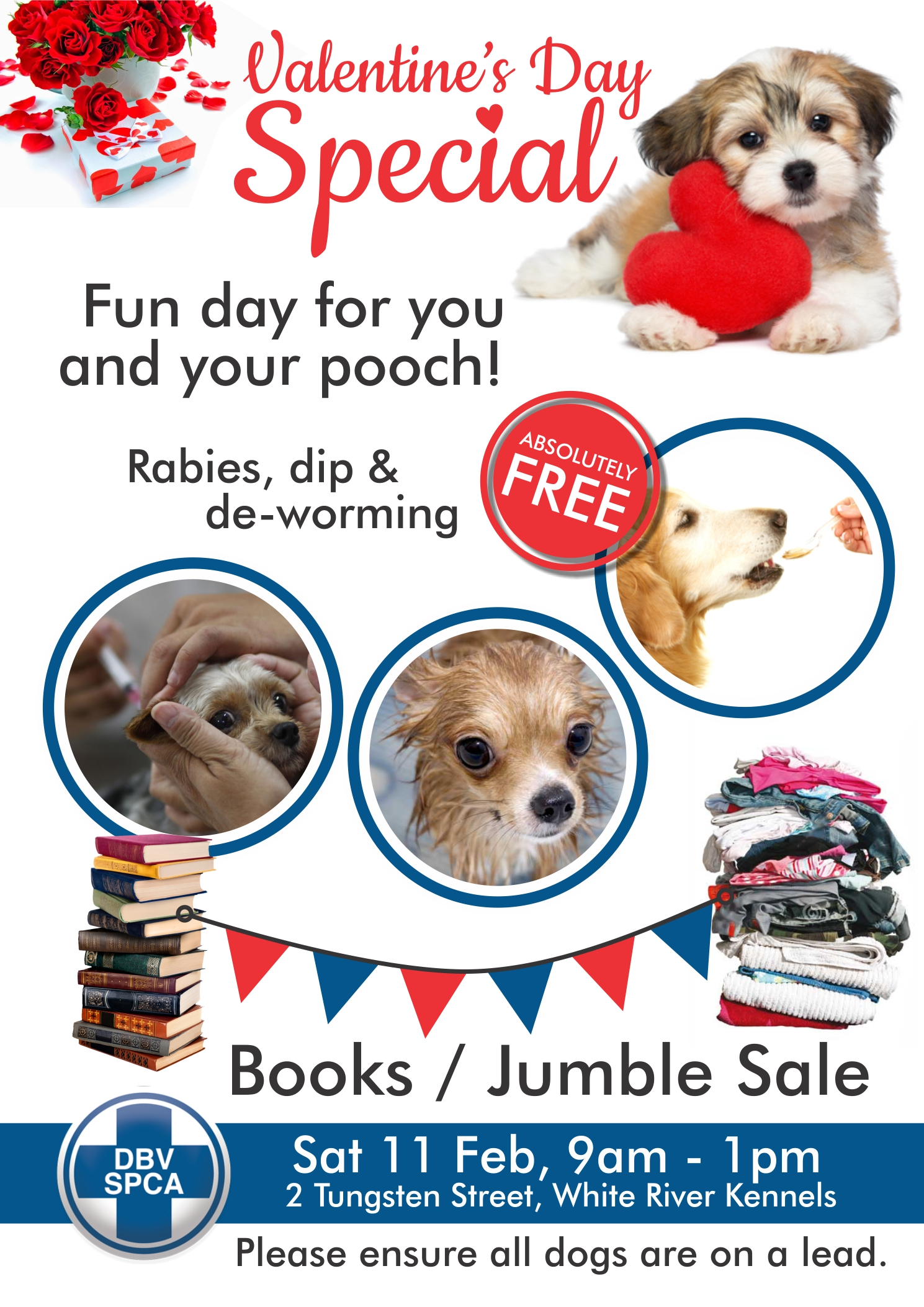 Book and Jumble Sale at SPCA - We Are White River