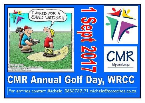 CMR Annual Golf Day at WRCC @ White River Country Club  | White River | Mpumalanga | South Africa