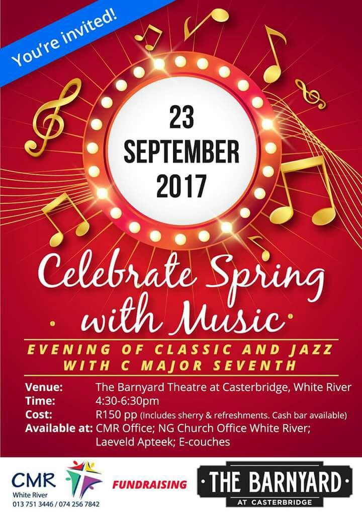 Celebrate Spring with Music @ The Barnyard Casterbridge @ The Barnyard at Casterbridge Lifestyle Centre   | White River | Mpumalanga | South Africa