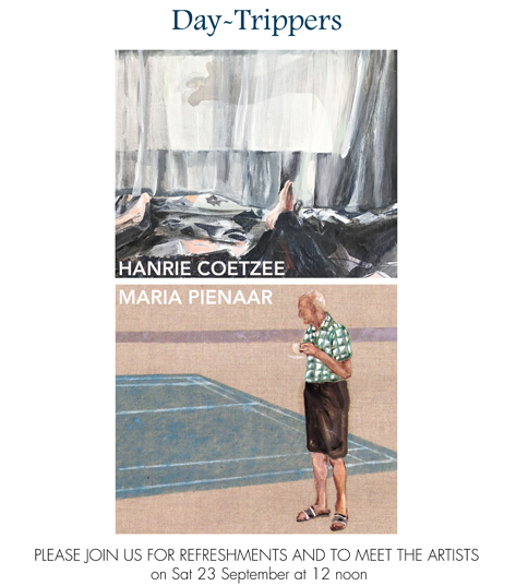 Day-Trippers An exhibition by Hanrie Coetzee and Maria Pienaar @ White River Gallery @ White River Gallery  | White River | Mpumalanga | South Africa