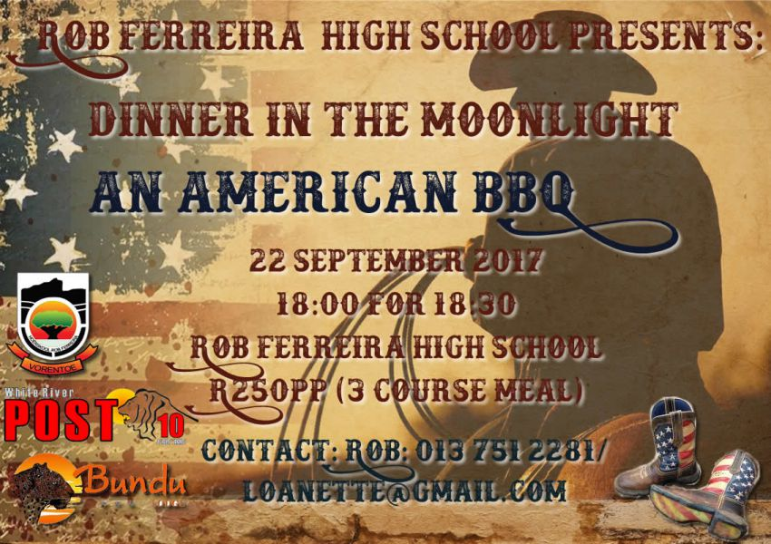 Dinner in the moonlight @ Rob Ferreira High School @ Rob Ferreira High School  | White River | Mpumalanga | South Africa
