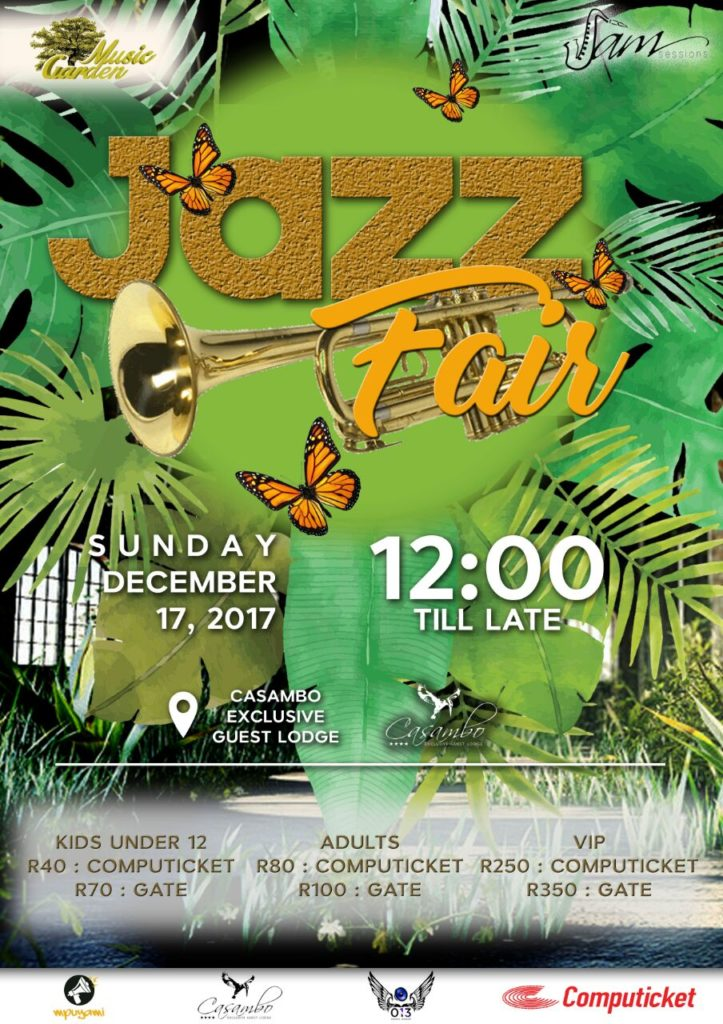 Jazz Fair at Casambo Lounge @ Casambo exclusive guest lodge