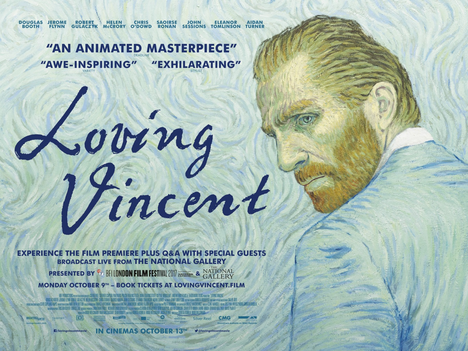Loving Vincent at Casterbridge Cinema @ Casterbridge Cinema | White River | Mpumalanga | South Africa
