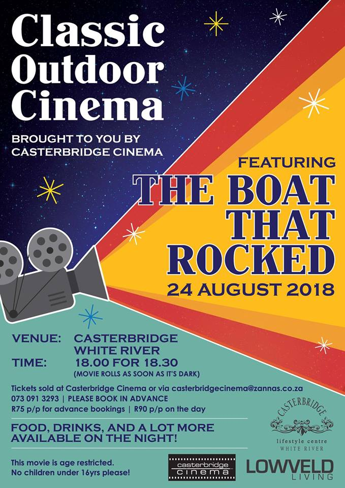 Classic Outdoor Cinema - The Boat that Rocked @ Casterbridge Lifestyle Centre