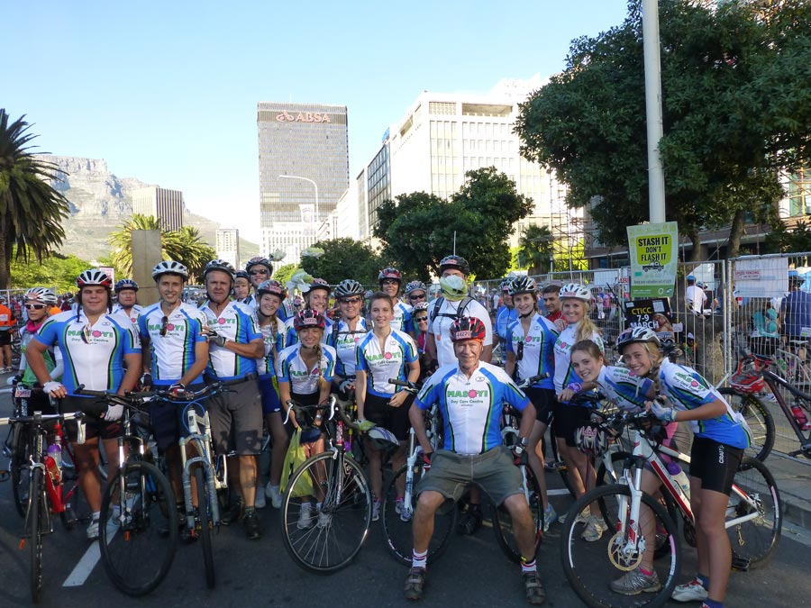 Argus Ride for Masoyi Care